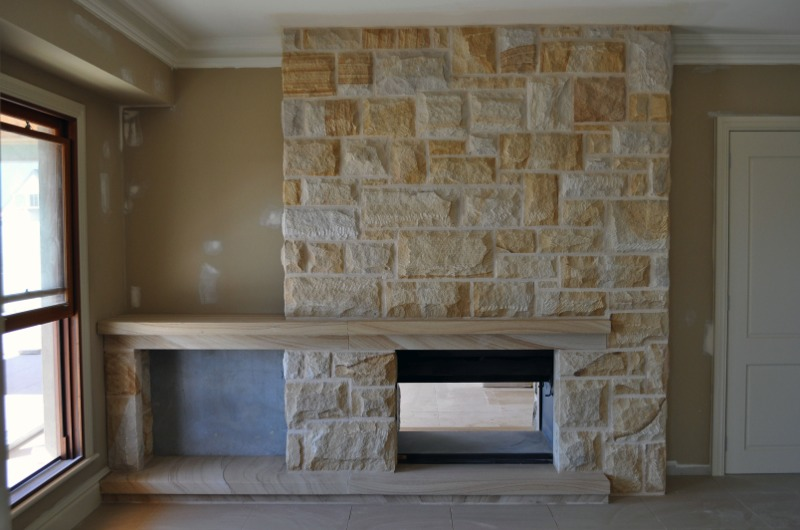 Sandstone Fireplaces Sydney L Sandstone Chimney